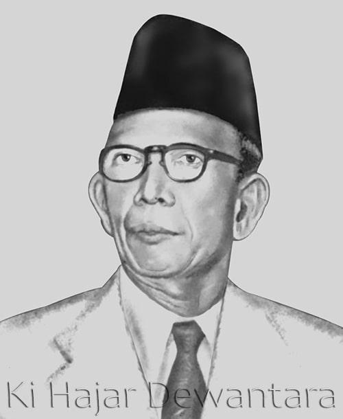 Biografi Pahlawan Nasional Ki Hajar Dewantara